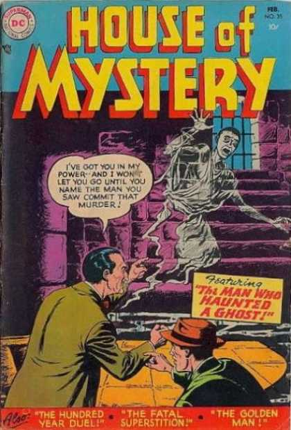 Ghost Manipulation-House of Mystery V1 #35