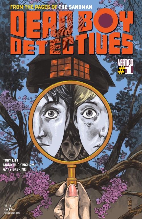 Ghost Mimicry-Dead Boy Detectives #1 (Vertigo)