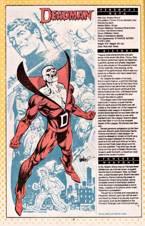Ghost Mimicry-Deadman-DC Who's Who V1 #6