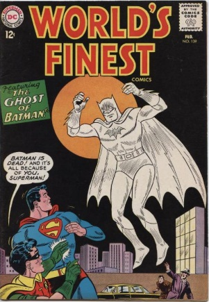 Ghost Mimicry-OS-Batman-World's Finest V1 #139