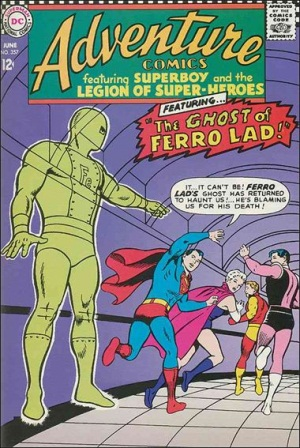 Ghost Mimicry-OS-Ferro Lad-Adventure Comics V1 #357