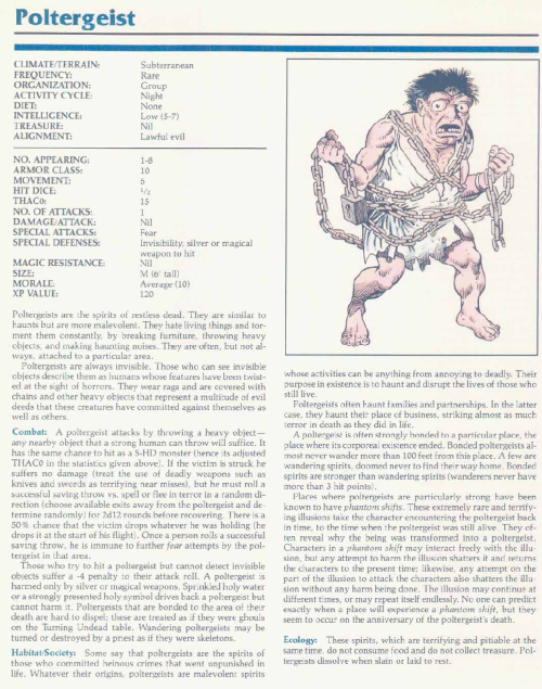 ghost-mimicry-poltergeist-tsr-2140a-monstrous-manual