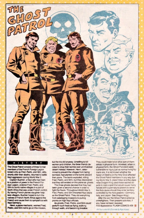 Ghost Mimicry-The Ghost Patrol-DC Who's Who V1 #9