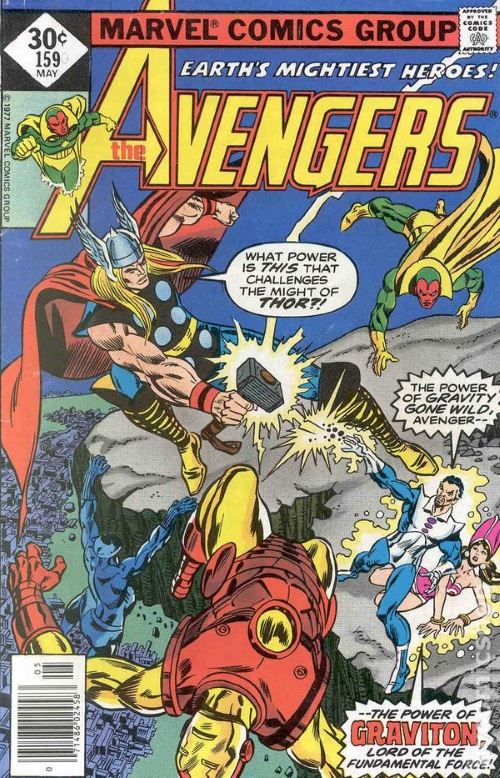 Gravity manipulation–Graviton-Avengers V1 #139