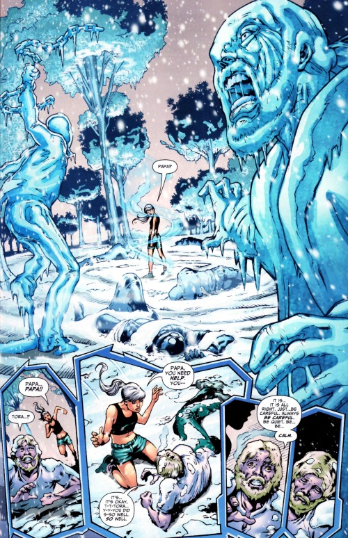 Ice Manipulation–Ice-Justice League-Generation Lost #12