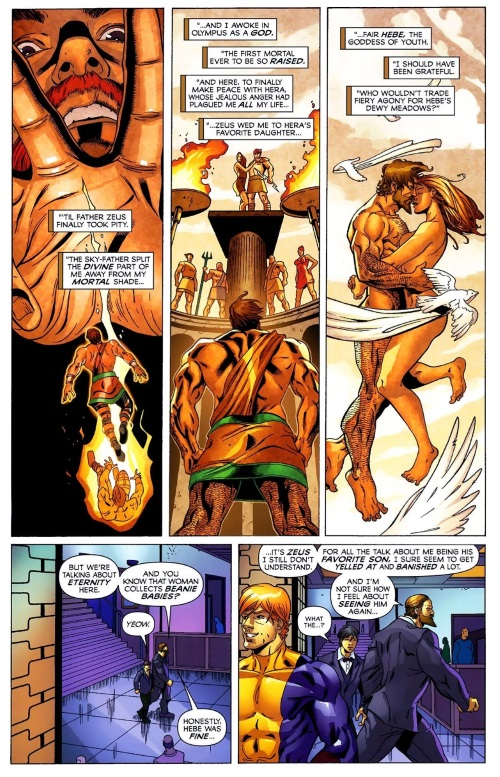 Immortality (others)–Incredible Hercules #129 (2009)