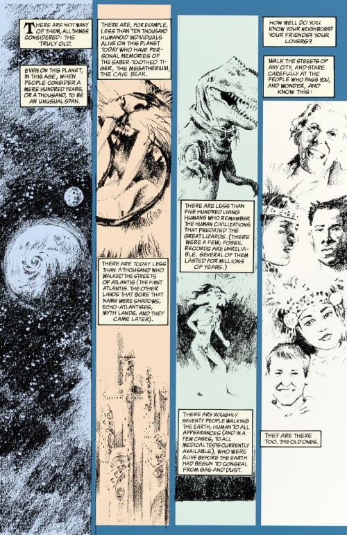 Immortality (self)–The Sandman-Brief Lives V7 (Vertigo)