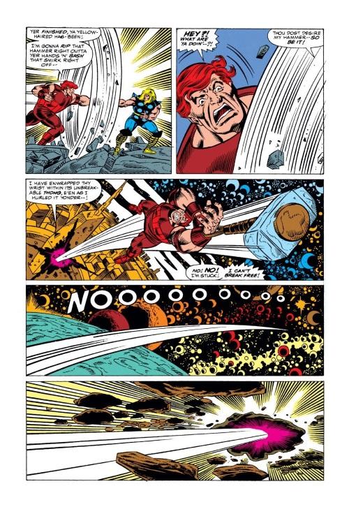 Inertia Manipulation (self)–Juggernaut-Thor #429 (1991)