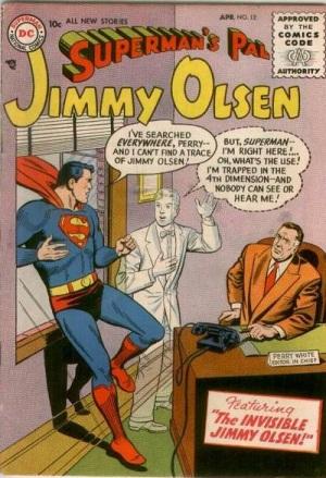 Intangibility (other)-OS-Jimmy Olsen V1 #12