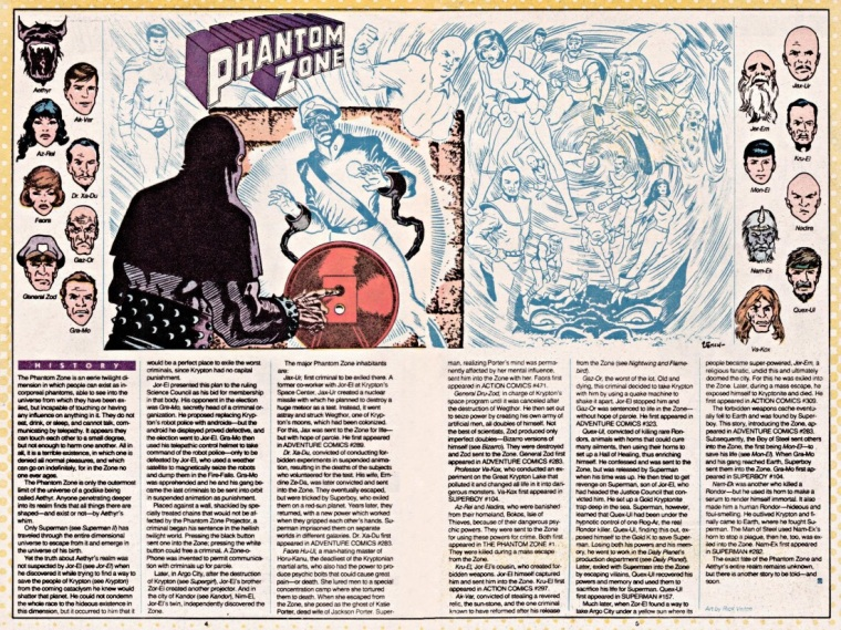 Intangibility (other)-Phantom Zone-DC Who's Who V1 #18