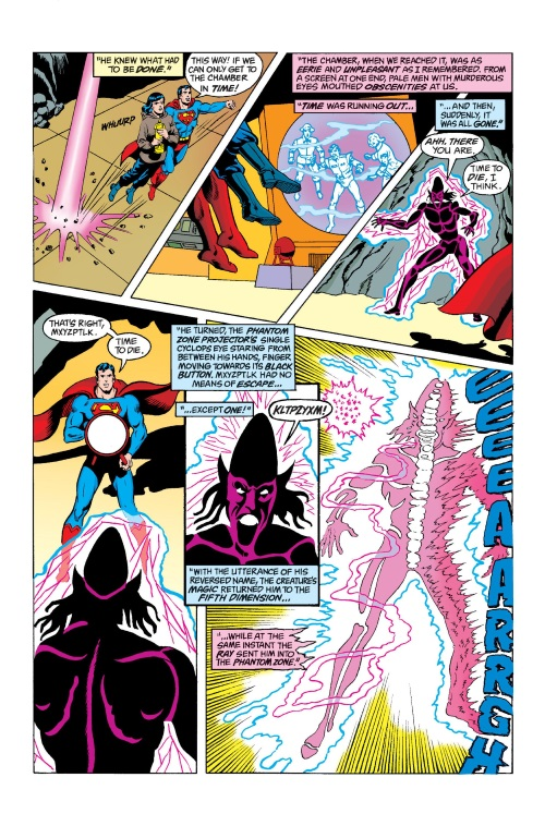 Intangibility (other)-Phantom Zone Projector-Mister Mxyzptlk-Action Comics V1 #583