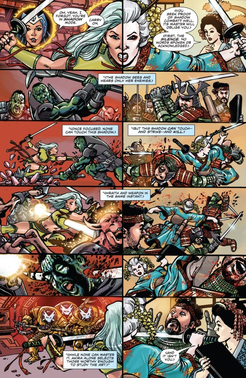 Intangibility (self)-Kage-George Perez's Sirens #2 (Boom)