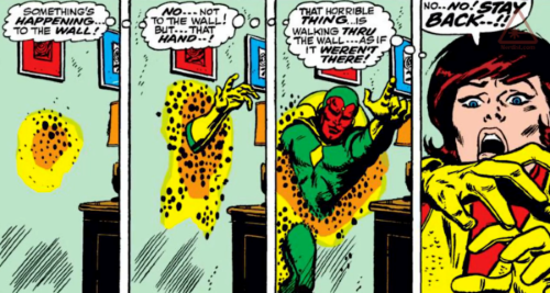 Intangibility (self)-Vision (Marvel)