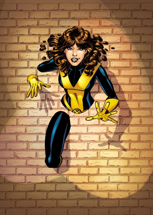 Intangibility (self)–Kitty Pryde (Marvel)