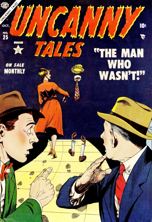 Invisibility-Uncanny Tales #25 (Atlas)