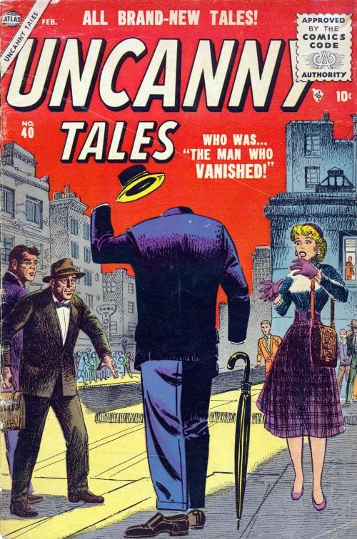 Invisibility-Uncanny Tales #40 (Atlas)