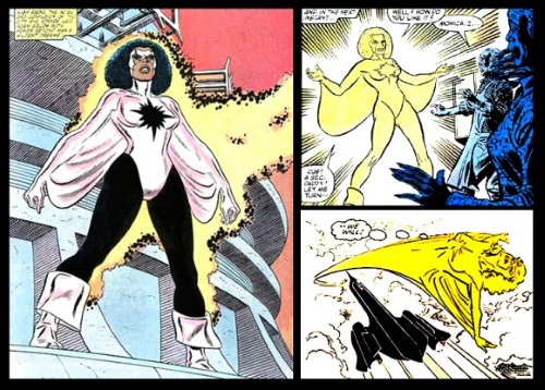 Light Manipulation-Monica Rambeau-Captain Marvel
