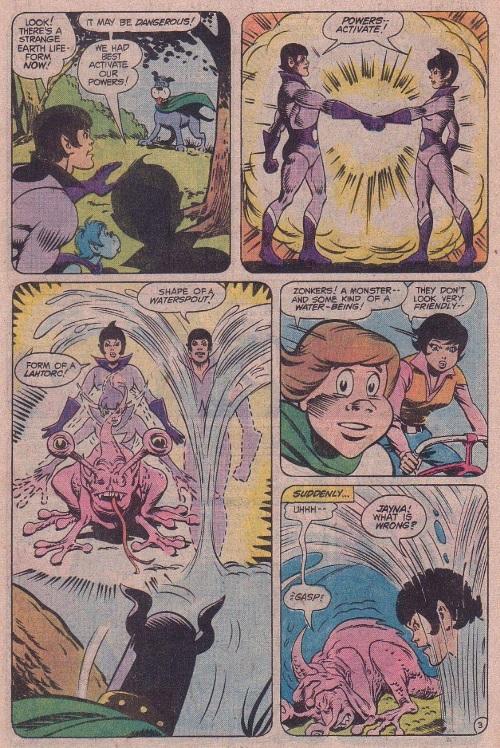 Liquefy (self)–Zan Wonder Twin-Super Friends V1 #7