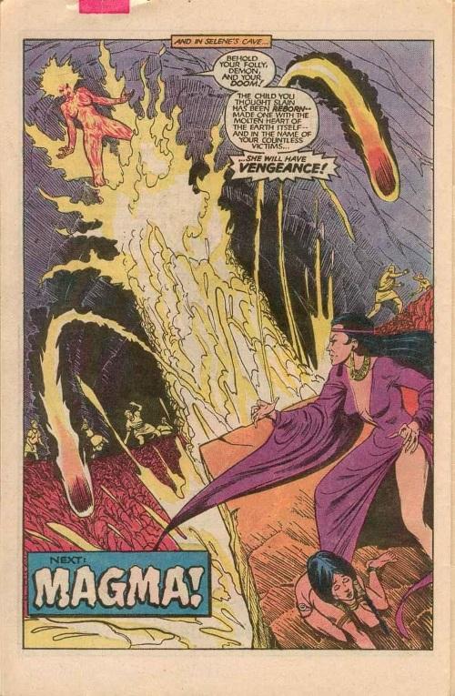 Magma Manipulation-Amara Aquilla-New Mutants V1 #10