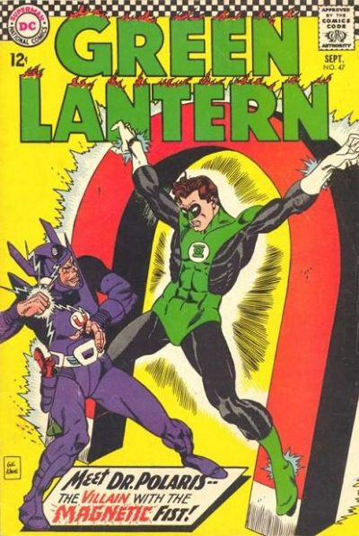 Magnetism manipulation-Doctor Polaris (DC)-Green Lantern V1 #47