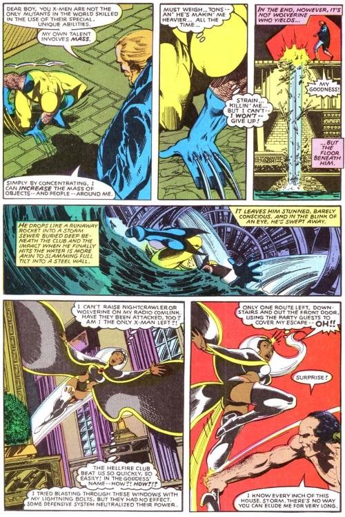 Mass manipulation–Harry Leland-Uncanny X-Men V1 #132
