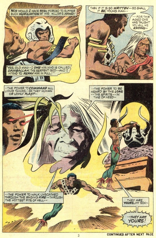 Mediumship–Brother Voodoo (Marvel)- Strange Tales V1 #170
