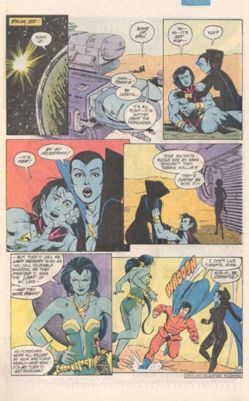 Memory Manipulation–Lady Memory-Tales of the Legion of Super-Heroes #318-23