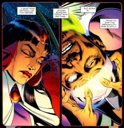 Memory manipulation–Zatanna (DC)-Mindwipes Storyline
