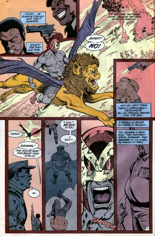 Merging (animals)–B'wana Beast-Animal Man #3
