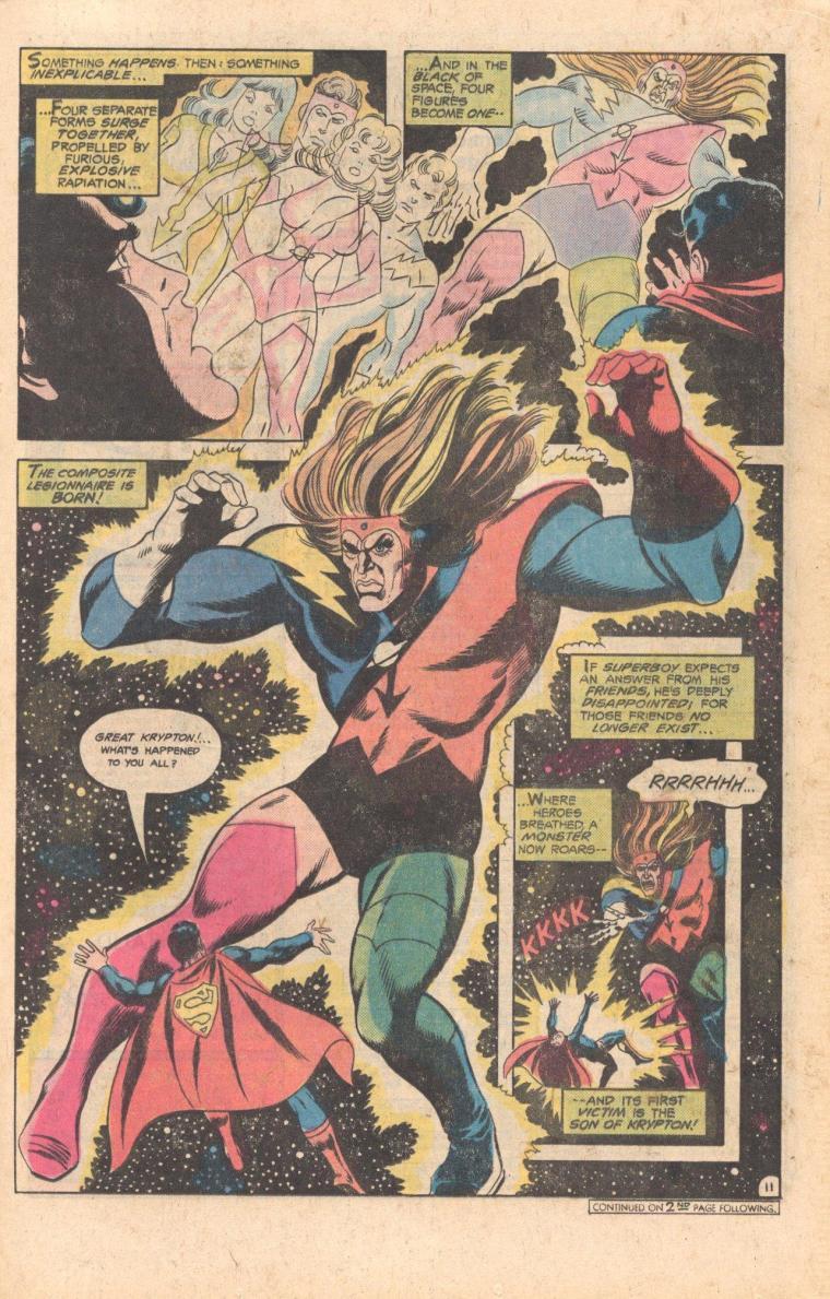 Merging (humanoids)-Composite Legionnaire-Legion of Super-Heroes V1 #234