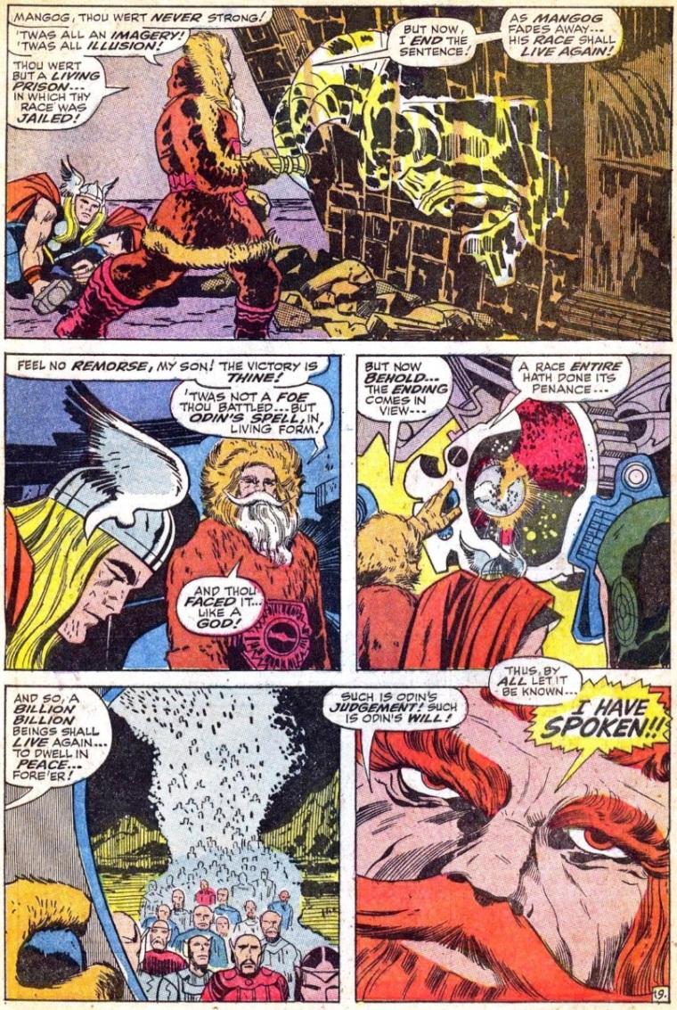 Merging (humanoids)-Mangog-Thor V1 #157
