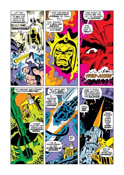 Merging (humanoids)-Overmind-Fantastic Four V1 #115