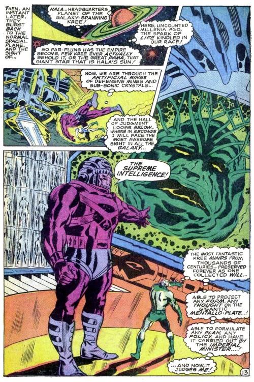 Merging (humanoids)–Supreme Intelligence-Captain Marvel V1 #16