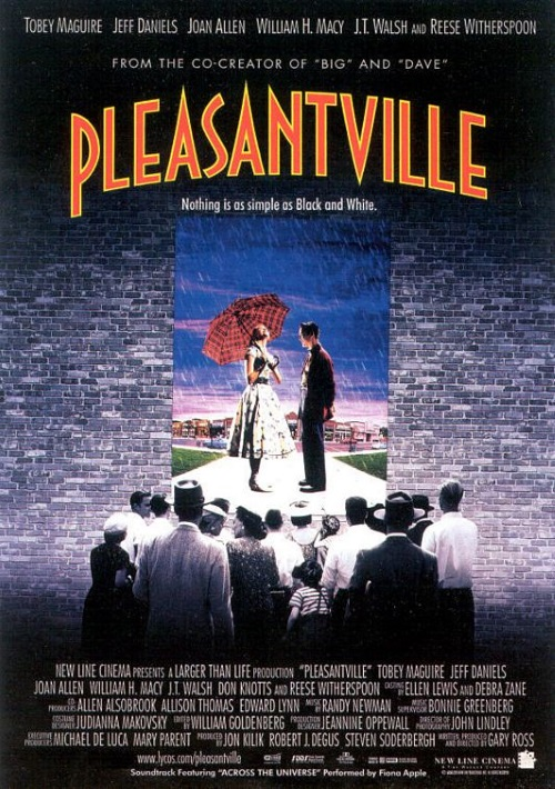 Metafictional Transportation-Pleasantville