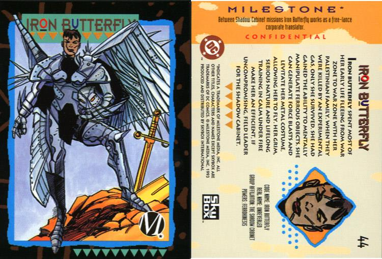 Metal Manipulation-Iron Butterfly-Milestone Media Universe Card Set