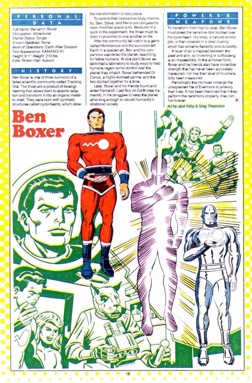 Metal Mimicry-Ben Boxer-DC Who's Who #2