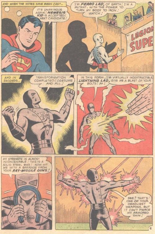 Metal Mimicry-Ferro Lad-Adventure Comics V1 #346