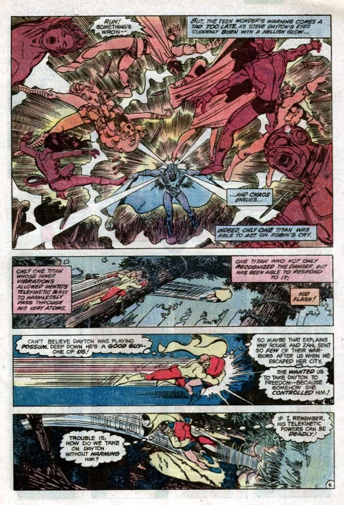 Mind Blast-Mento-The New Teen Titans V1 #14