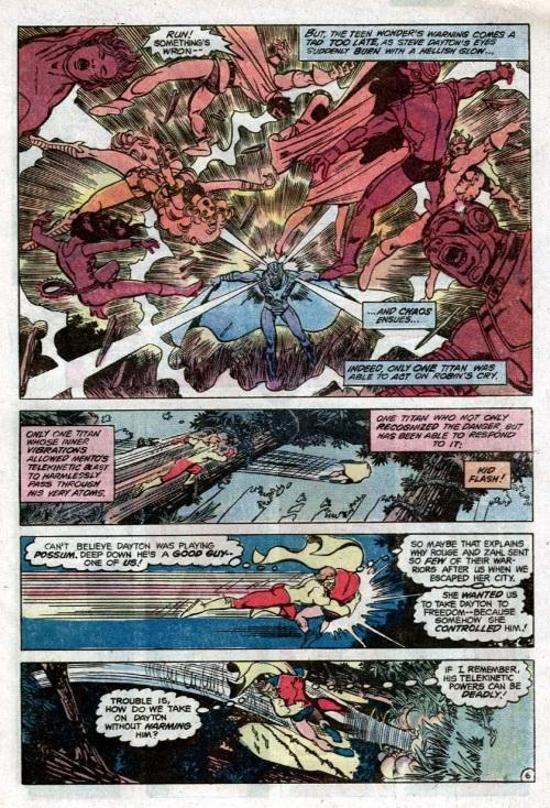 Mind Blast-Mento-The New Teen Titans V1 #14