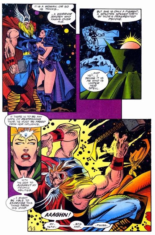Mind Blast–Moon Dragon-The Mighty Thor V1 #469