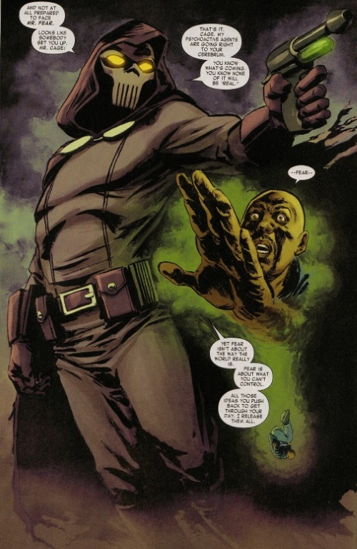Mind Control (fear)-Mister Fear (Marvel)