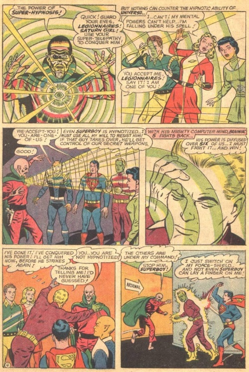 Mind Control (group)–Universo-Adventure Comics #349