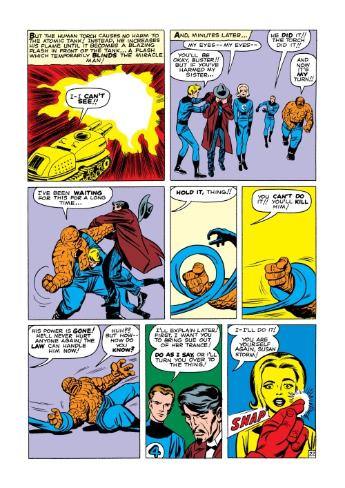 Mind Control (hypnotism)-Miracle Man-Fantastic Four V1 #3-23