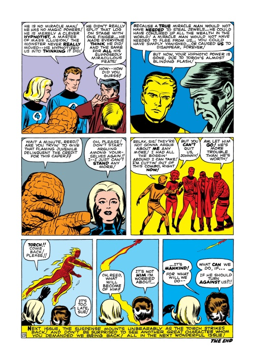 Mind Control (hypnotism)-Miracle Man-Fantastic Four V1 #3-24