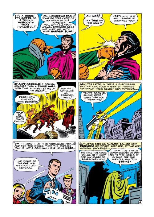 Mind Control (hypnotism)-Miracle Man-Fantastic Four V1 #3-5