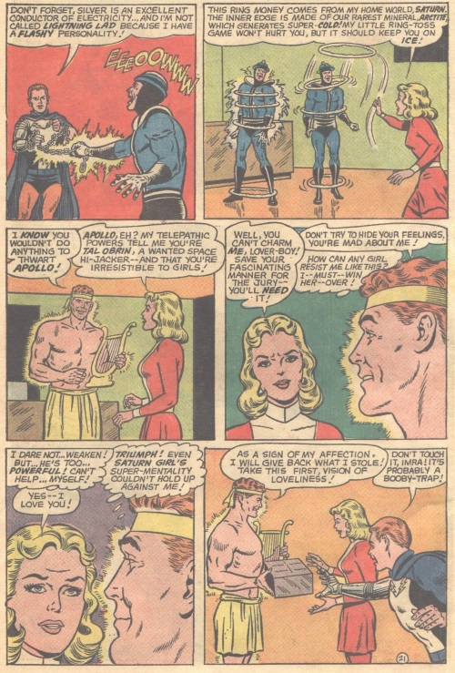 Mind Control (love)-Apollo-Adventure Comics V1 #350