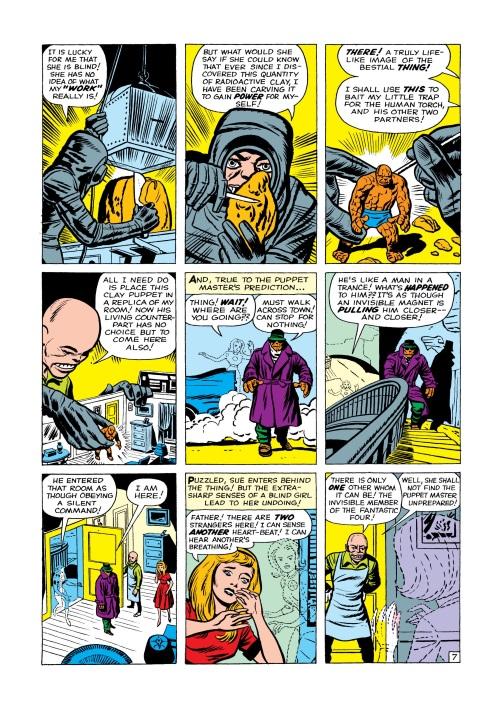 Mind Control (object)–Puppet Master-Fantastic Four V1 #8