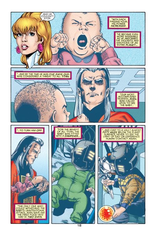 Mind Control Resistance-Universo-Titans Legion of Super-Heroes-Universe Ablaze #2