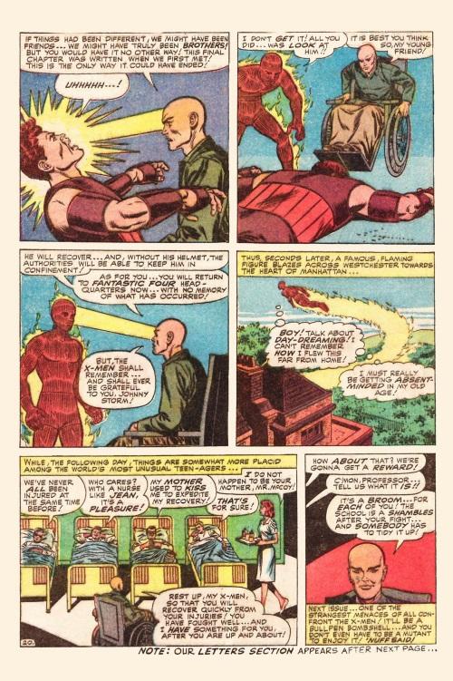 Mind control resistance–Juggernaut-Uncanny X-Men V1 #13-21
