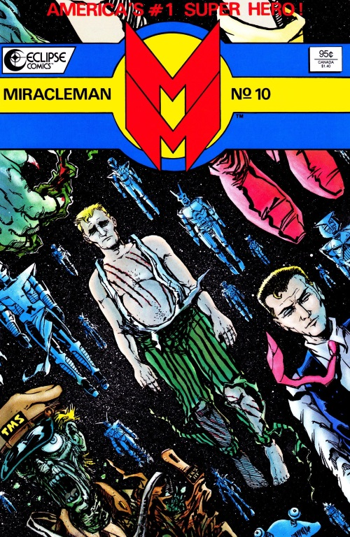 Mind Transfer–Miracleman #10